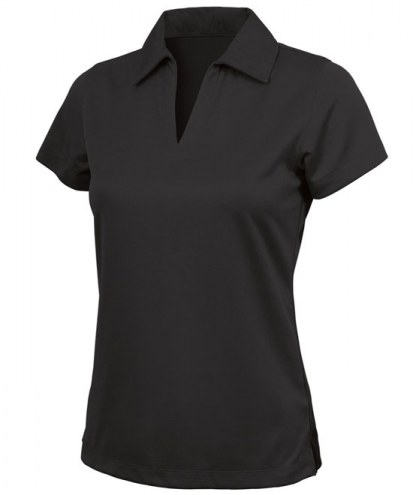 Charles River Custom Women's Smooth Knit Solid Wicking Performance Polo