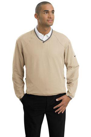 Nike Golf Custom Men's V-Neck Wind Shirt