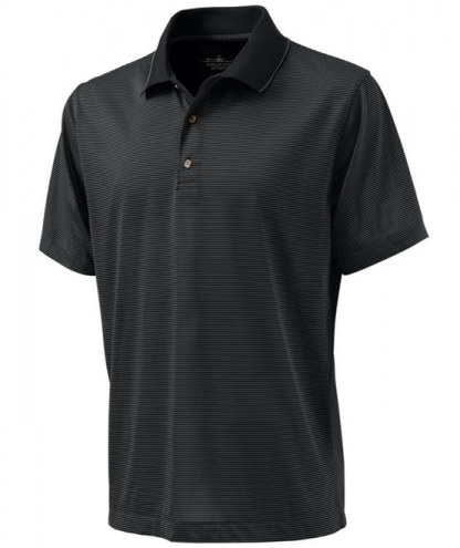 Charles River Custom Men's Micro Stripe Performance Polo