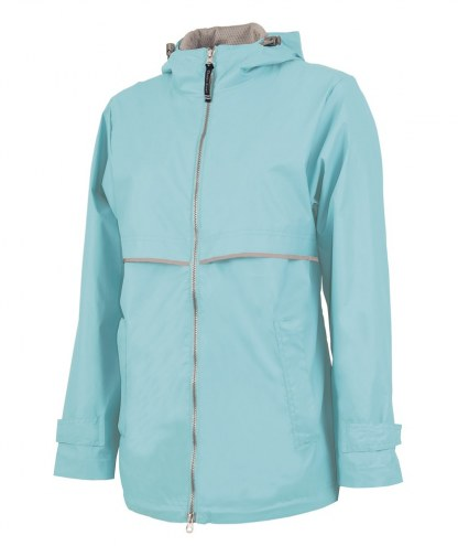 Charles River Custom Womens New Englander Rain Jacket