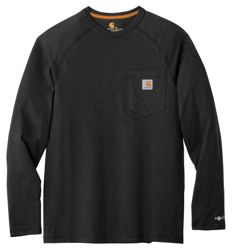 Carhartt Force Cotton Delmont Men's Custom Long Sleeve T-Shirt