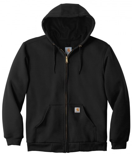 Carhartt Rain Defender Rutland Thermal-Lined Hooded Zip-Front Men's Custom Sweatshirt
