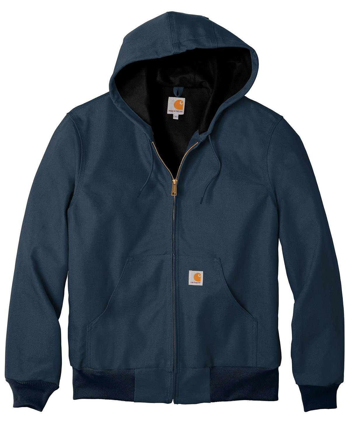 153f8d6f9fe76 Carhartt Thermal-Lined Duck Active Men's Custom Jacket