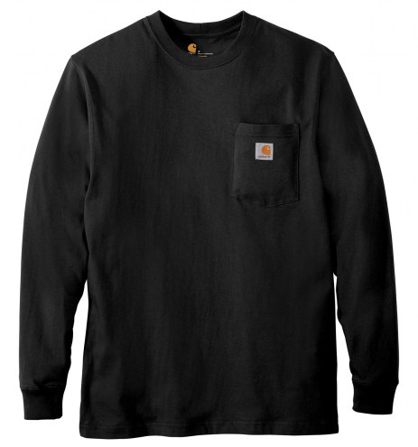 Carhartt Workwear Pocket Long Sleeve Men's Custom T-Shirt