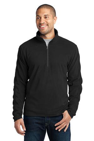 Port Authority Custom Men's Microfleece 1/2-Zip Fleece Pullover