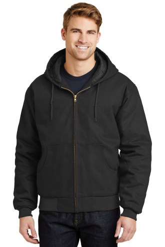 CornerStone Duck Cloth Men's Hooded Custom Work Jacket