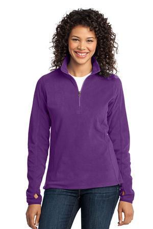 Port Authority Custom Women's Microfleece 1/2-Zip Fleece Pullover