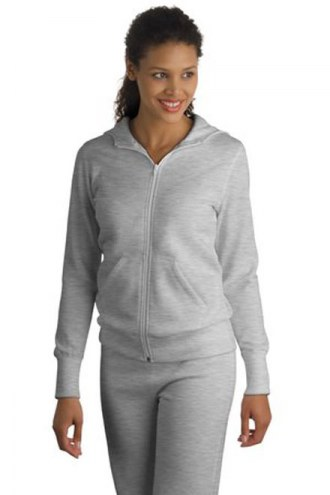 Sport-Tek Custom Womens Full Zip Hooded Sweatshirt