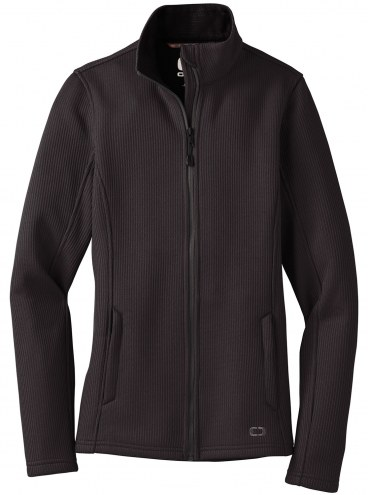 Ogio Women's Grit Custom Fleece Jacket