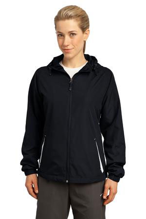 Sport-Tek Custom Women's Colorblock Hooded Jacket