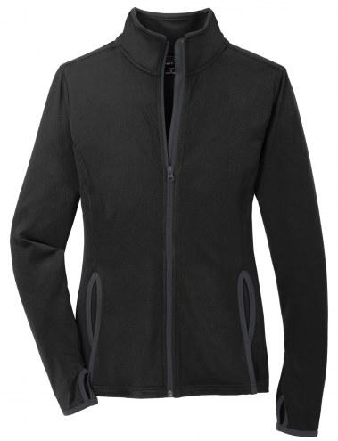 Sport-Tek Women's Sport Wick Stretch Contrast Full Zip Jacket