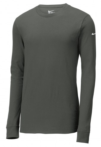 Nike Core Men's Cotton Custom Long Sleeve Shirt