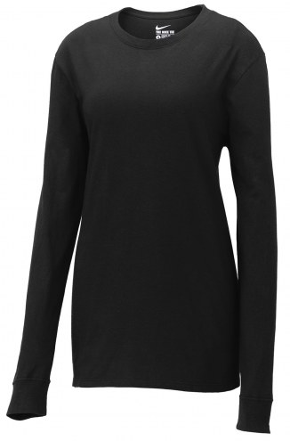 Nike Core Women's Cotton Custom Long Sleeve Shirt