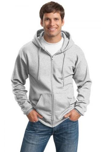 Port & Company Custom Adult Ultimate Full Zip Hooded Sweatshirt