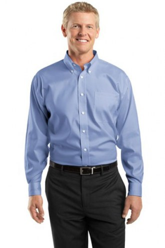 Red House Custom Men's Pinpoint Oxford Non-Iron Button-Down Shirt