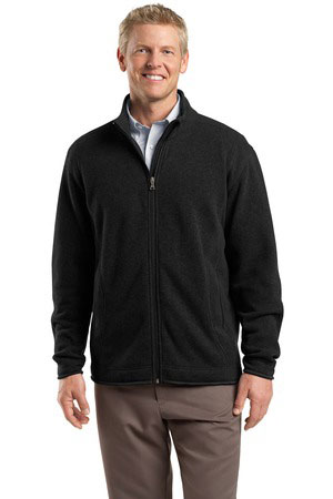 Red House Custom Men's Sweater Fleece Full-Zip Jacket