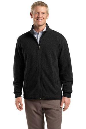 Red House Custom Men's Sweater Fleece Full-Zip Jacket