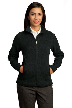 Red House Custom Women's Sweater Fleece Full-Zip Jacket