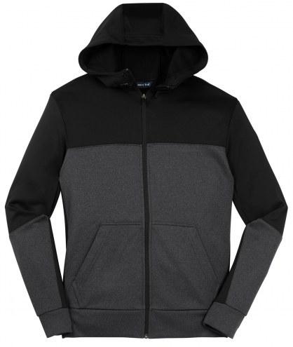 Sport-Tek Tek Fleece Colorblock Full Zip Men's Hooded Jacket