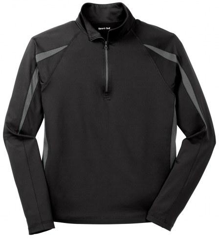Sport-Tek Sport Wick Stretch 1/2 Zip Men's Colorblock Pullover