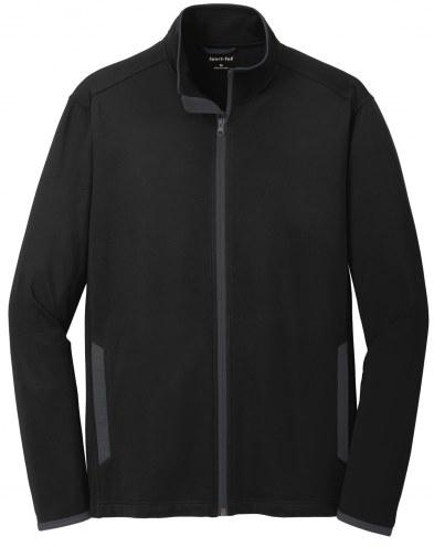 Sport-Tek Men's Sport Wick Stretch Contrast Full Zip Jacket