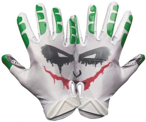Battle Sports Villain Cloaked Adult Football Receiver Gloves