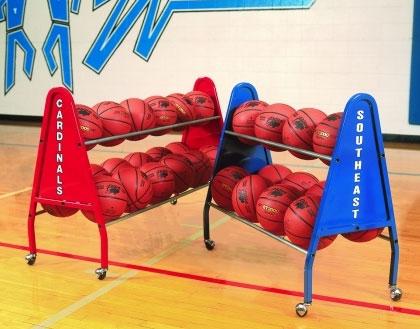 Bison 12 Ball Heavy Duty Basketball Ball Caddy
