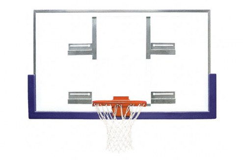 Bison Standard Conversion Board Gymnasium Basketball Backboard Package