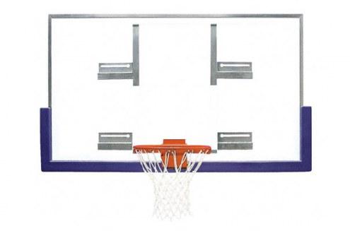 Bison Standard Conversion Board Gymnasium Basketball Backboard Package