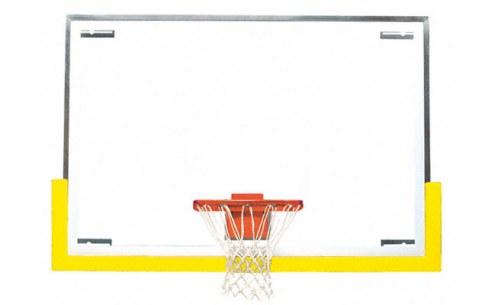 Bison Standard Tall Board Gymnasium Basketball Backboard Package