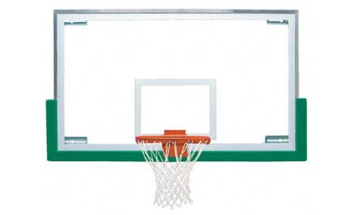 Bison Premium Short Board Gymnasium Basketball Backboard Package