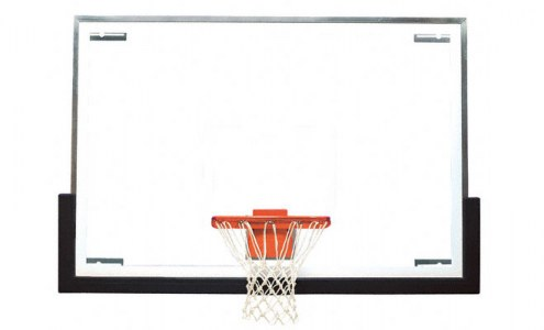 Bison Premium Tall Board Gymnasium Basketball Backboard Package