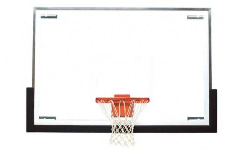 Bison Premium Tall Board Gymnasium Basketball Backboard Package