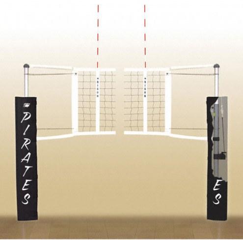 Bison Centerline Elite Aluminum Indoor Volleyball System