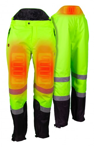 Fieldsheer Mobile Warming Men's Hi-Viz Heated Rain Pants