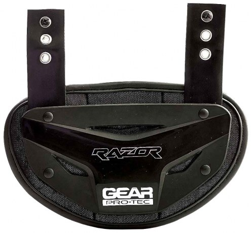 "Gear Pro-Tec Razor Football Back Plate - 9.5"" x 6"""