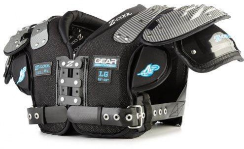 Gear Pro-Tec Z-Cool ZC7 Adult Football Shoulder Pads - Skill