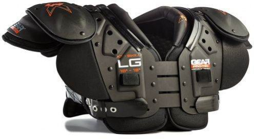 Gear Pro-Tec X3 Adult X7 Football Shoulder Pads - Skill