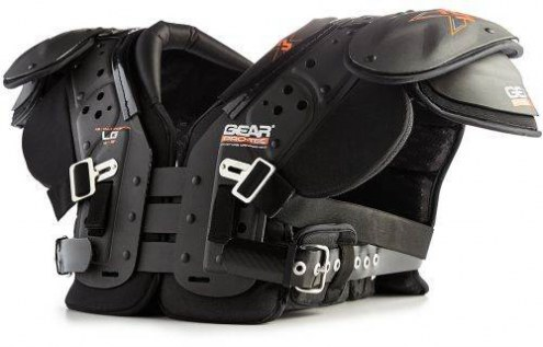 Gear Pro-Tec X3 Adult X15 Football Shoulder Pads - Multi-Position