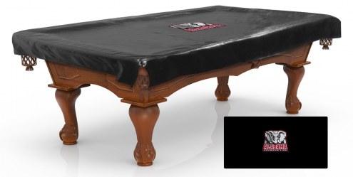 Alabama Crimson Tide Pool Table Cover