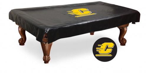 Central Michigan Chippewas Pool Table Cover