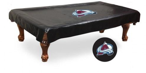 Colorado Avalanche Pool Table Cover