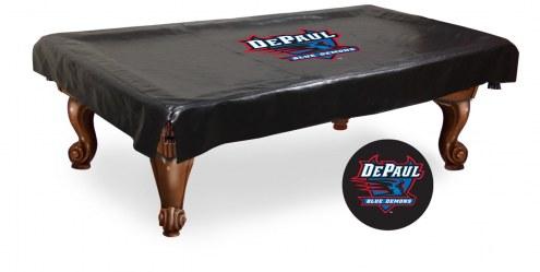 DePaul Blue Demons Pool Table Cover