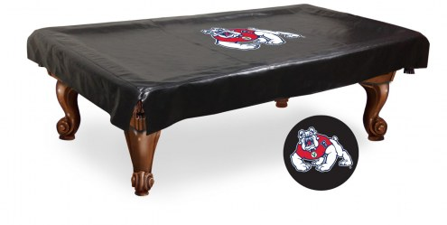 Fresno State Bulldogs Pool Table Cover