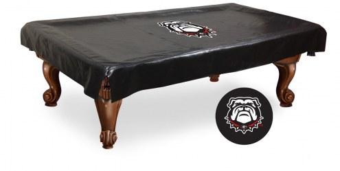 Georgia Bulldogs Pool Table Cover