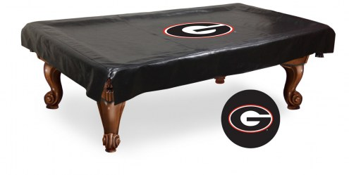 Georgia Bulldogs NCAA Pool Table Cover