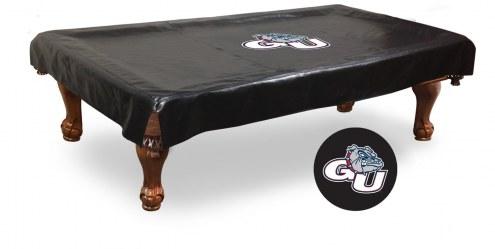 Gonzaga Bulldogs Pool Table Cover