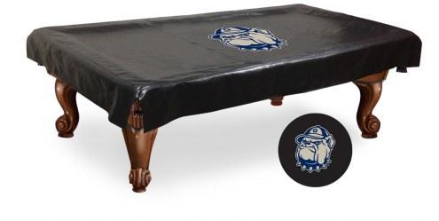 Georgetown Hoyas Pool Table Cover