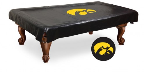 Iowa Hawkeyes Pool Table Cover
