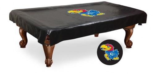 Kansas Jayhawks Pool Table Cover